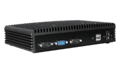 Fanless Embedded PC with Intel Celeron J3455 1.5GHz CPU - FES8097