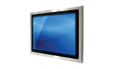 Stainless Steel Panel Mount Monitor
