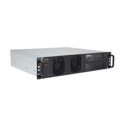 "2U 15"" Depth Rackmount Computer with Micro ATX M/B & 2 x 5.25"" External Drive Bays - RMC5265"