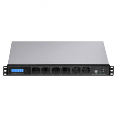 1U Rackmount Computer with Intel Core i CPU &  Fan Temperature Control - RMC6132
