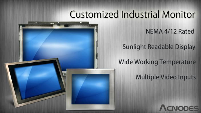 customized industrial monitor