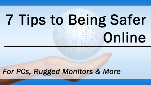 7 tips to online safety, so you don't have to be afraid of DDOS attacks.