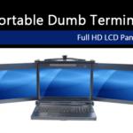 Portable Dumb Terminal: Full HD LCD Panel