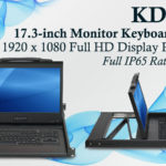 "KD80170 Features 17.3"" Monitor with Full HD"