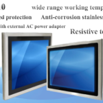 PMN80190: Panel Mount Monitor with Full IP66 Protection