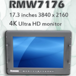 "RMW7176 Features 17.3"" 8U High Rack Mount Monitor with 4K Display"