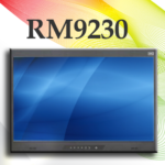 "RM9230 Features Military Grade 9U High 23"" 4K LCD Panel"