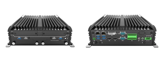 Fanless Embedded PC with Dual Removable Hard Drive
