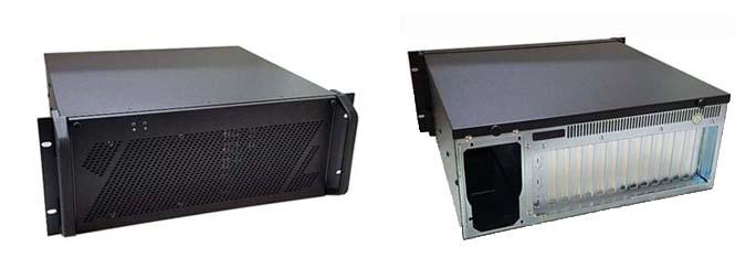 4U Rackmount Computer with 14-Slot PICMG 1.3 Backplane - RMC8405