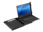 "New 23.8"" 4K UHD Rackmount Console Drawer w/ Integrated 8-Port HDMI USB KVM Switch - KD84230"